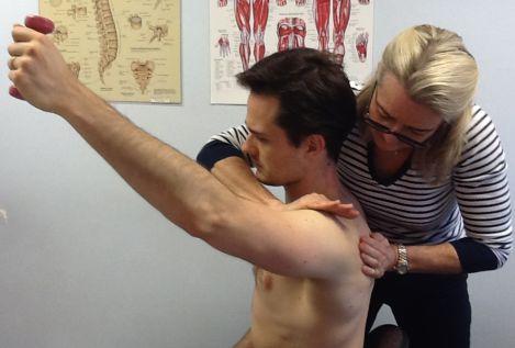 Treating shoulder pain